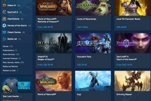 名作揃い「Blizzard Shop」の購入方法