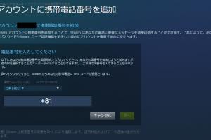 【Steam指南的ガイド】その6-電話番号の追加・認証コードが届かない場合の解決方法-