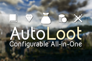 【The Witcher 3: Wild Hunt】自動アイテム取得Mod「AutoLoot Configurable All-in-One」の導入方法と使い方