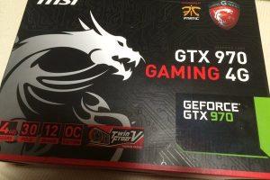 【デバイスレビュー】MSI GTX970 GAMING 4G グラフィックボード