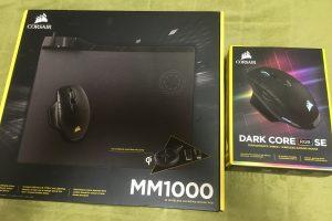 【デバイスレビュー】Dark Core RGB SEワイヤレスゲーミングマウス & MM1000 Qiワイヤレス充電マウスパッド