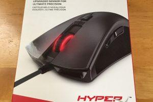 【デバイスレビュー】Kingston ゲーミングマウス HyperX Pulsefire FPS Pro