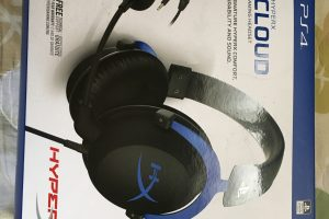 【デバイスレビュー】HyperX Cloud Gaming Headset for PS4