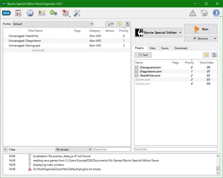 Mod管理ツール「Mod Organizer 2」の導入方法【Fallout4・Skyrim