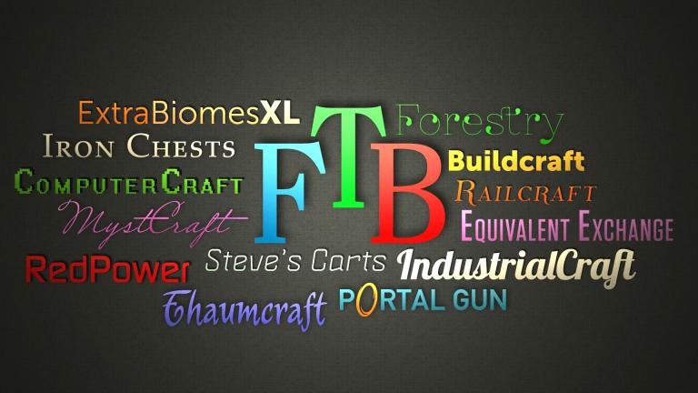 Minecraft】様々なModを楽しめるModパック群「Feed The Beast(FTB)」の